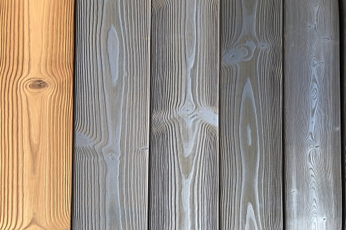Brushed thermowood - oiled/not oiled